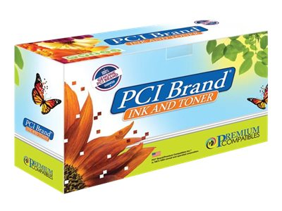 PCI Brand - cyan - compatible - toner cartridge (alternative for: Brother TN433C)