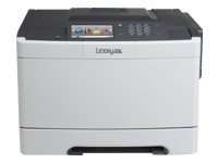 Lexmark CS510de - Printer - colour - Duplex - laser - A4/Legal - 1200 x 1200 dpi - up to 30 ppm (mono) / up to 30 ppm (colour) - capacity: 250 sheets - USB 2.0, Gigabit LAN, USB host