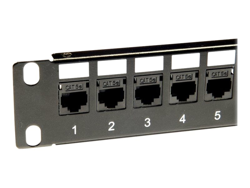 Panasonic 3SR-PATCH-24P - Patch Panel - Schwarz - 24 Ports - für Panasonic KX-NS700