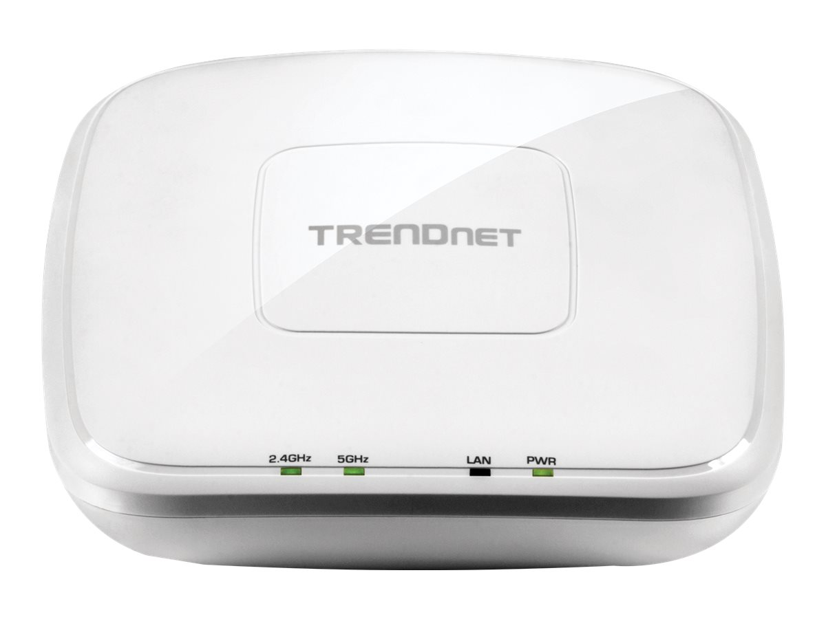TRENDnet TEW 825DAP AC1750 Dual Band PoE Access Point - Drahtlose Basisstation - Wi-Fi - Dualband