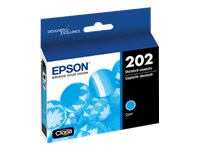 Epson 202 With Sensor - Cyan - original - ink cartridge - for Expression Home XP-5100; WorkForce WF-2860