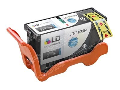LD Products 16 ml High Yield black ink cartridge (alternative for: Dell T109N)