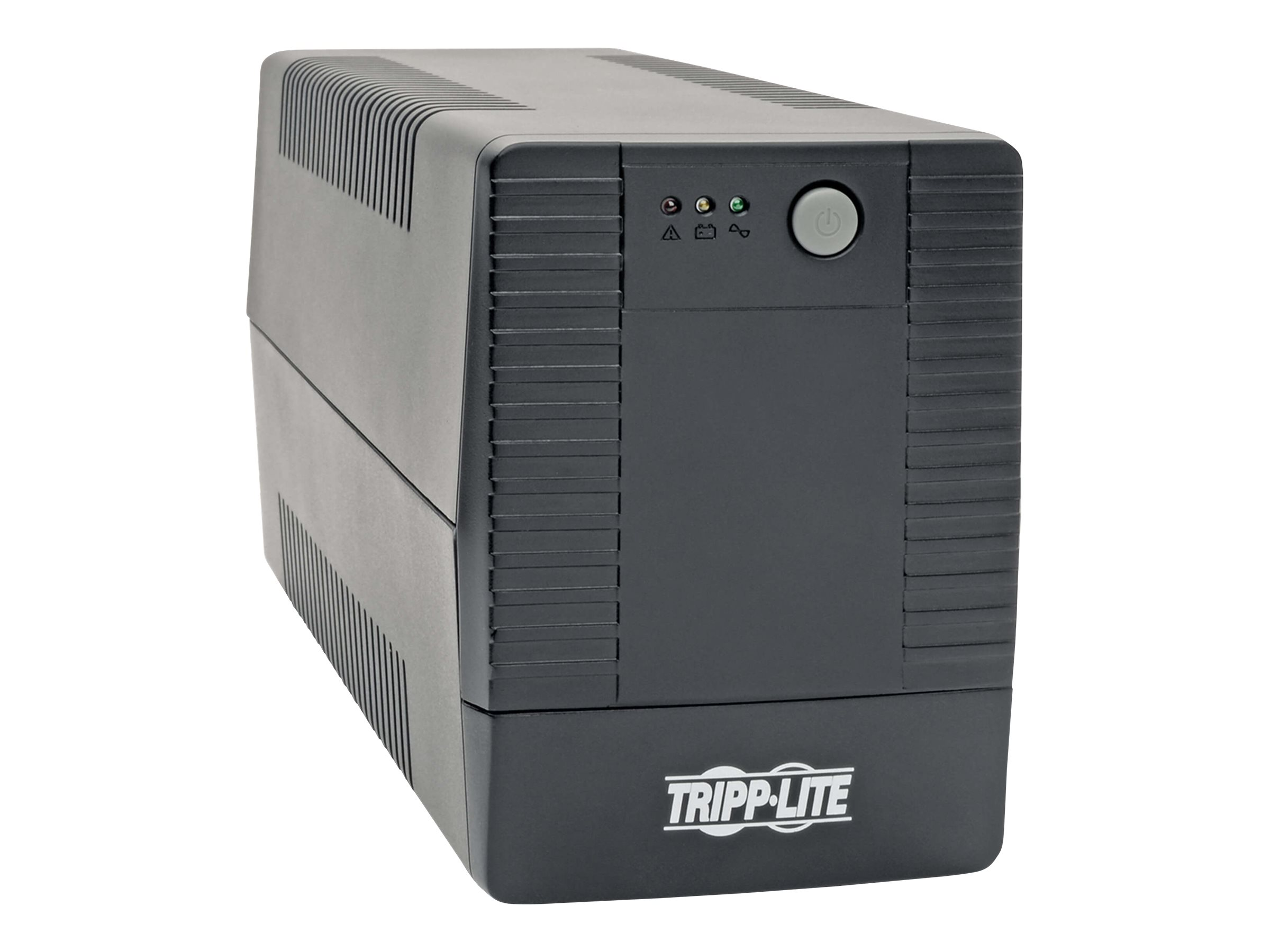 Tripp Lite 600VA 360W UPS Desktop Battery Back Up Compact 120V 6 Outlets - UPS - 360 Watt - 600 VA