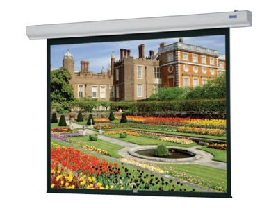 Da-Lite Designer Contour Electrol with Built-in Infrared Remote Projection screen