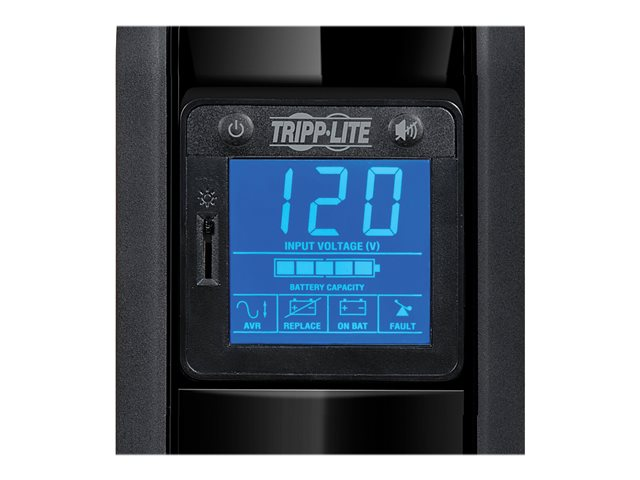 Tripp Lite UPS 900VA 475W Battery Back Up Tower LCD AVR 120V USB