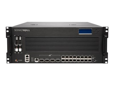 SonicWall Network Security services platform 12400 High Availability Security appliance