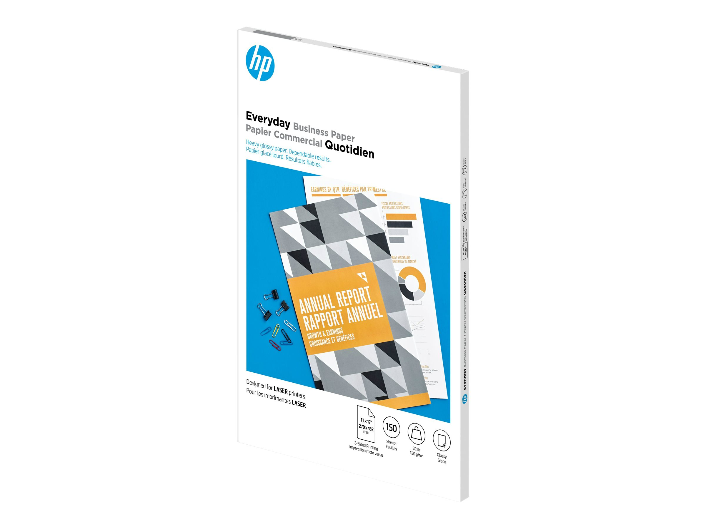 HP Everyday - photo paper - 150 sheet(s) - Ledger - 120 g/m²