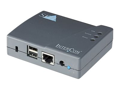 SEH Printserver PS03a - Druckserver - USB 2.0 - Gigabit Ethernet