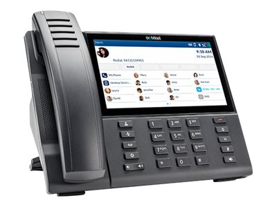VoIP phone - with Bluetooth interface - SIP, MiNet