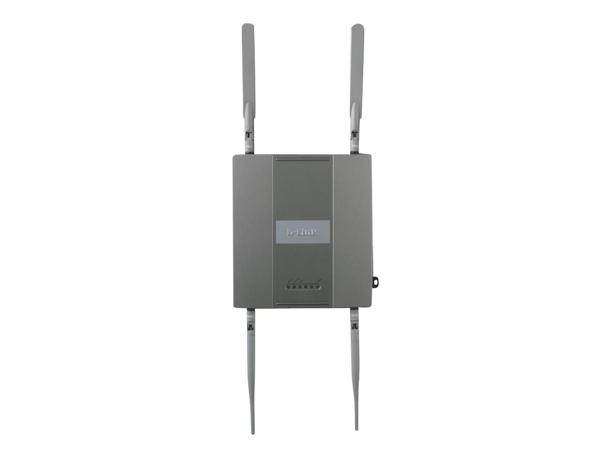 D-Link Wireless N Unified 802.11n Dualband Access Point DWL-8600AP - Drahtlose Basisstation - Wi-Fi