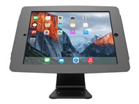 Compulocks Space 360 iPad 9.7INCH Counter Top Kiosk Black Stand for tablet aluminum black