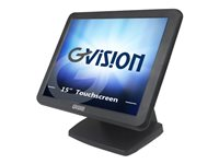 GVision V15DX-AB LCD monitor 15INCH touchscreen 1024 x 768 250 cd/m² 600:1 8 ms