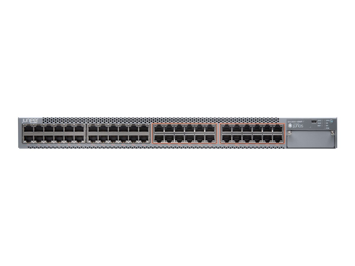 Juniper Networks EX Series EX4300-48MP - switch - 48 ports - managed - rack-mountable
