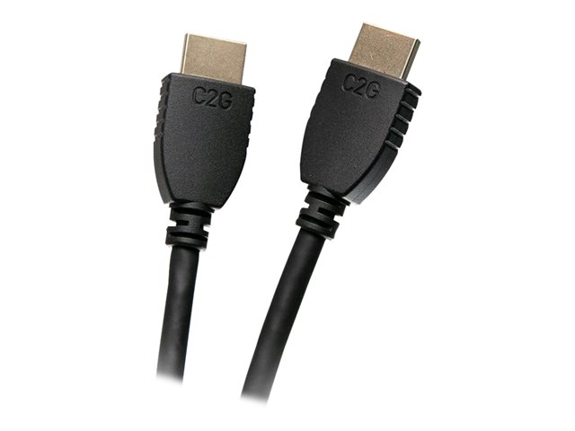 C2G 1ft 4K HDMI Cable with Ethernet - High Speed - UltraHD Cable - M/M