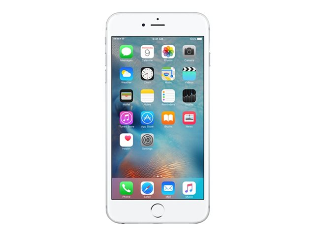 "Apple iPhone 6s - Smartphone - 4G LTE Advanced - 32 Go - CDMA / GSM - 4.7"" - 1334 x 750 pixels (326 ppi) - Retina HD - 12 MP (caméra avant de 5 mégapixels) - argent"