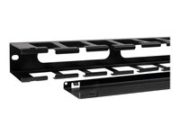 """StarTech.com 1U Horizontal Finger Duct Rack Cable Management Panel with Cover - Server Rack Cable Duct - Rack Cable Organizer / Manager (CMDUCT1UX) - Rack cable management panel - 1U - 19"""" - for P/N: RK12WALLOA, RK1536BKF, RK15WALLO, RK15WALLOA, RK1836BKF, RK4236BKB, RKQMCAB12V2"""