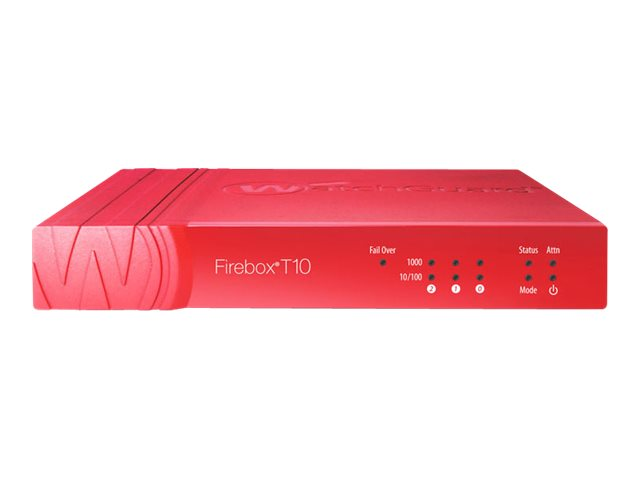 WatchGuard Firebox T10-W - security appliance - with 1 year Total Security Suite