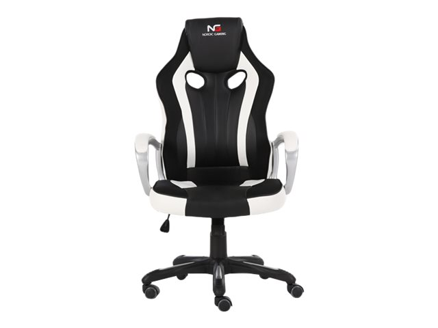 Nordic Gaming Challenger Gaming Chair White Black