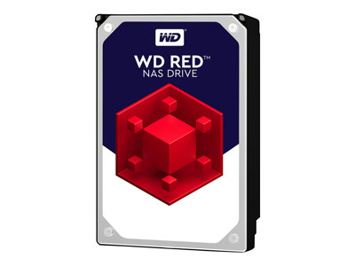 "WD Red NAS Hard Drive WD30EFRX - Disque dur - 3 To - interne - 3.5"" - SATA 6Gb/s - mémoire tampon : 64 Mo - pour My Cloud EX2; EX4"