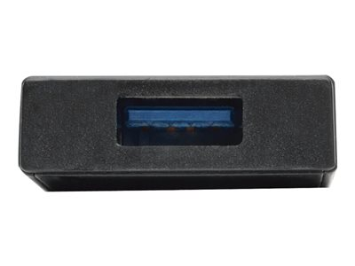 Tripp Lite 4-Port Portable Slim USB 3.0 Superspeed Hub w/ Built In Cable