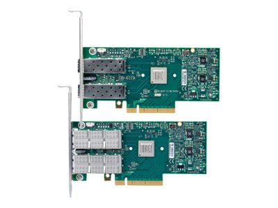 Mellanox ConnectX-3 EN MCX312A-XCBT Network adapter PCIe 3.0 x8 10 GigE, FCoE 2 por