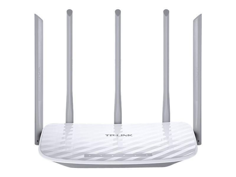 TP-LINK Archer C60 AC1350 - Wireless Router - 4-Port-Switch - 802.11a/b/g/n/ac - Dual-Band