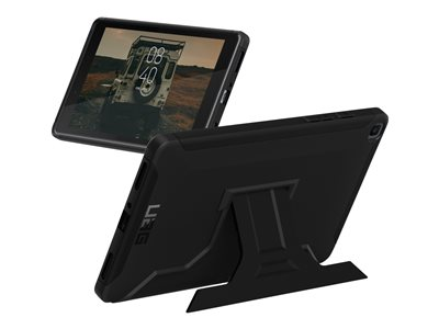 UAG Rugged Case w/ Kickstand for Samsung Galaxy Tab 8.4 Scout Black Back cover for tablet