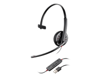 Plantronics Blackwire C310-M - 300 Series - headset - on-ear - wired