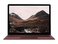 "Microsoft Surface Laptop - Core i7 7660U / 2.5 GHz - Win 10 Pro - 16 GB RAM - 512 GB SSD - 13.5"" touchscreen 2256 x 1504 - Iris Plus Graphics 640 - Wi-Fi, Bluetooth - burgundy - kbd: UK - commercial"