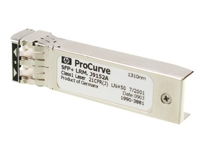 HPE SFP+ transceiver module 10 GigE 10GBase-LRM LC multi-mode up to 722 ft 1310 nm
