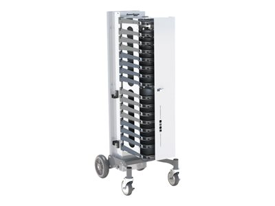 PowerGistics Business Series MobileX16 Cart (charge only) for 16 tablets / notebooks