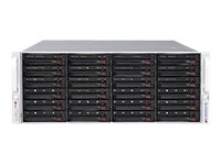 Supermicro SuperServer 6048R-E1CR24H Server rack-mountable 4U 2-way RAM 0 MB SATA/SAS