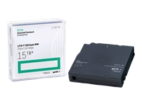 HPE Ultrium RW Data Cartridge - LTO Ultrium 7 - 6 TB / 15 TB - write-on labels