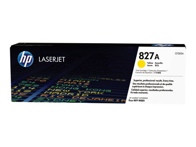 HP 827A Yellow original LaserJet toner cartridge (CF302A)