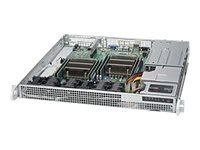 Supermicro SuperServer 6018R-MDR Server rack-mountable 1U 2-way RAM 0 GB no HDD
