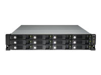 QNAP TVS-1271U-RP - NAS server - 12 bays - rack-mountable - SATA 6Gb/s - RAID 0, 1, 5, 6, 10, JBOD - Gigabit Ethernet - iSCSI - 2U