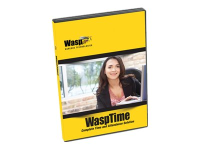WaspTime Pro (v. 7) - box pack (version upgrade) - 5 administrators, 100 employees