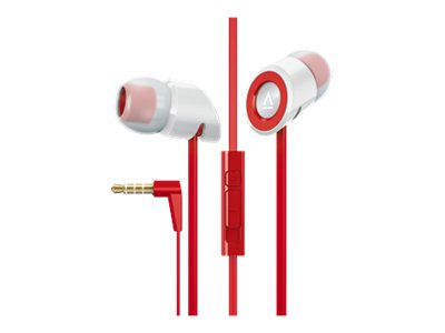 Creative Hitz MA350 Headset in-ear wired noise isolating white, red