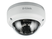 D-Link DCS-4603 Full HD PoE Dome Camera - Network surveillance camera - pan / tilt - colour (Day&Night) - 3 MP - 1920 x 1080 - 1080p - LAN 10/100 - MJPEG, H.264 - DC 12 V