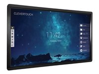 "Clevertouch - 65"" Class - Pro Series LED display - with touchscreen - 4K UHD (2160p) 3840 x 2160"