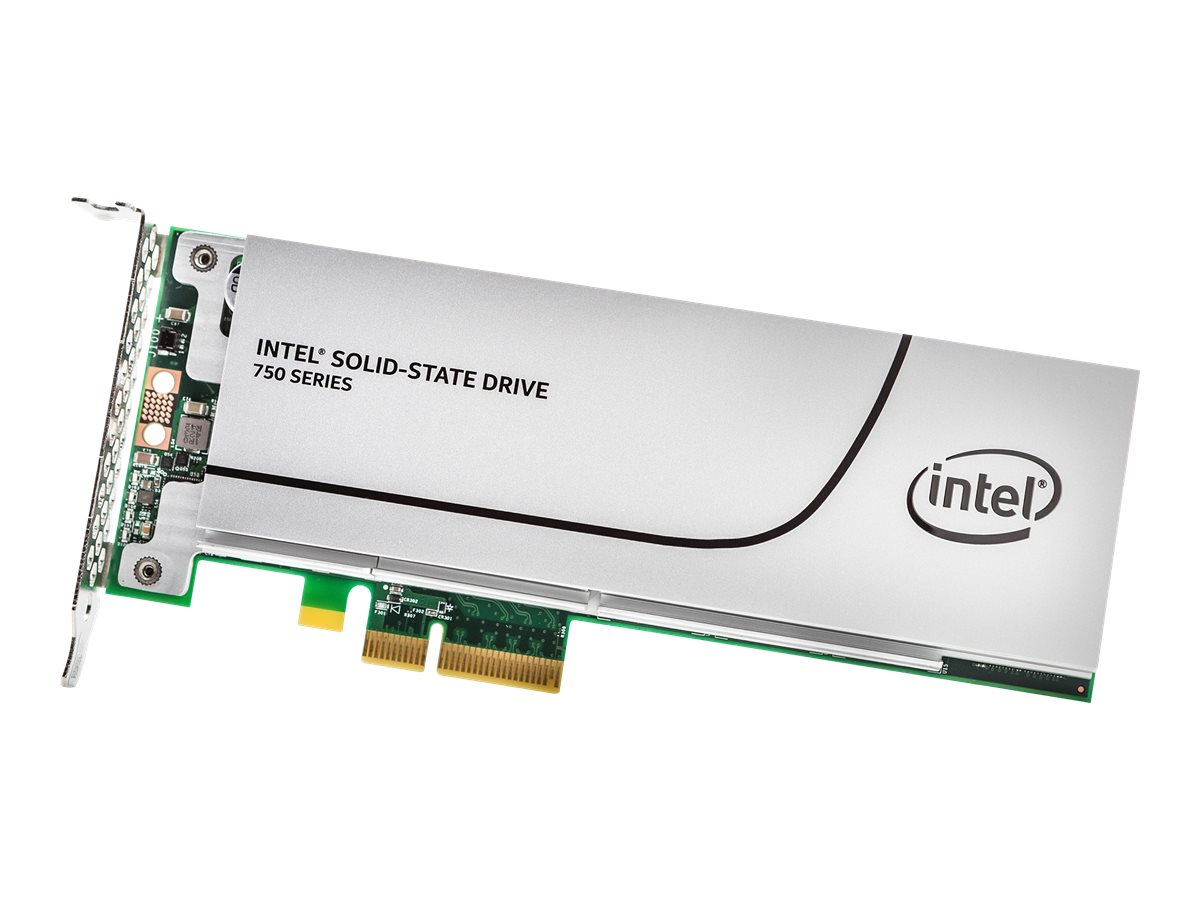 Intel Solid-State Drive 750 Series - Solid-State-Disk - 800 GB - intern - PCI Express 3.0 x4 (NVMe)