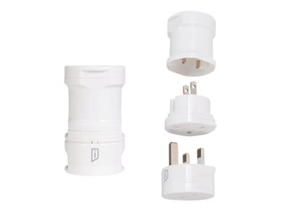 iStore World Travel Adapter Power connector adapter kit AC 110-250 V 10 A white image