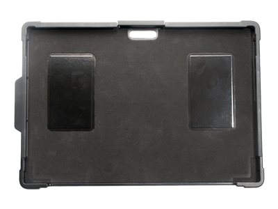 CTA Security Case with Kickstand and Anti-Theft Cable Back cover for tablet