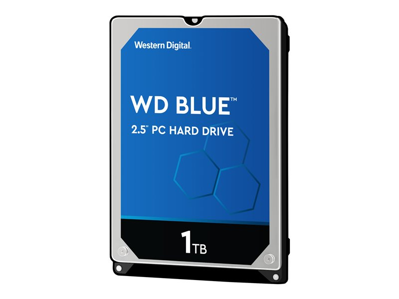 WD Blue WD10SPZX - disque dur - 1 To - SATA 6Gb/s