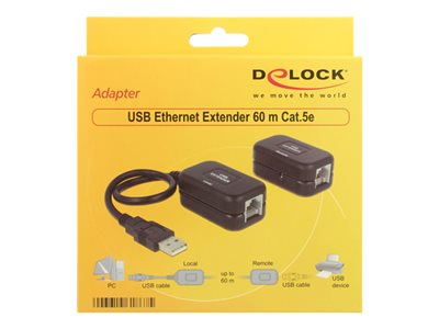 USB Ethernet Extender 60 m Cat.5e