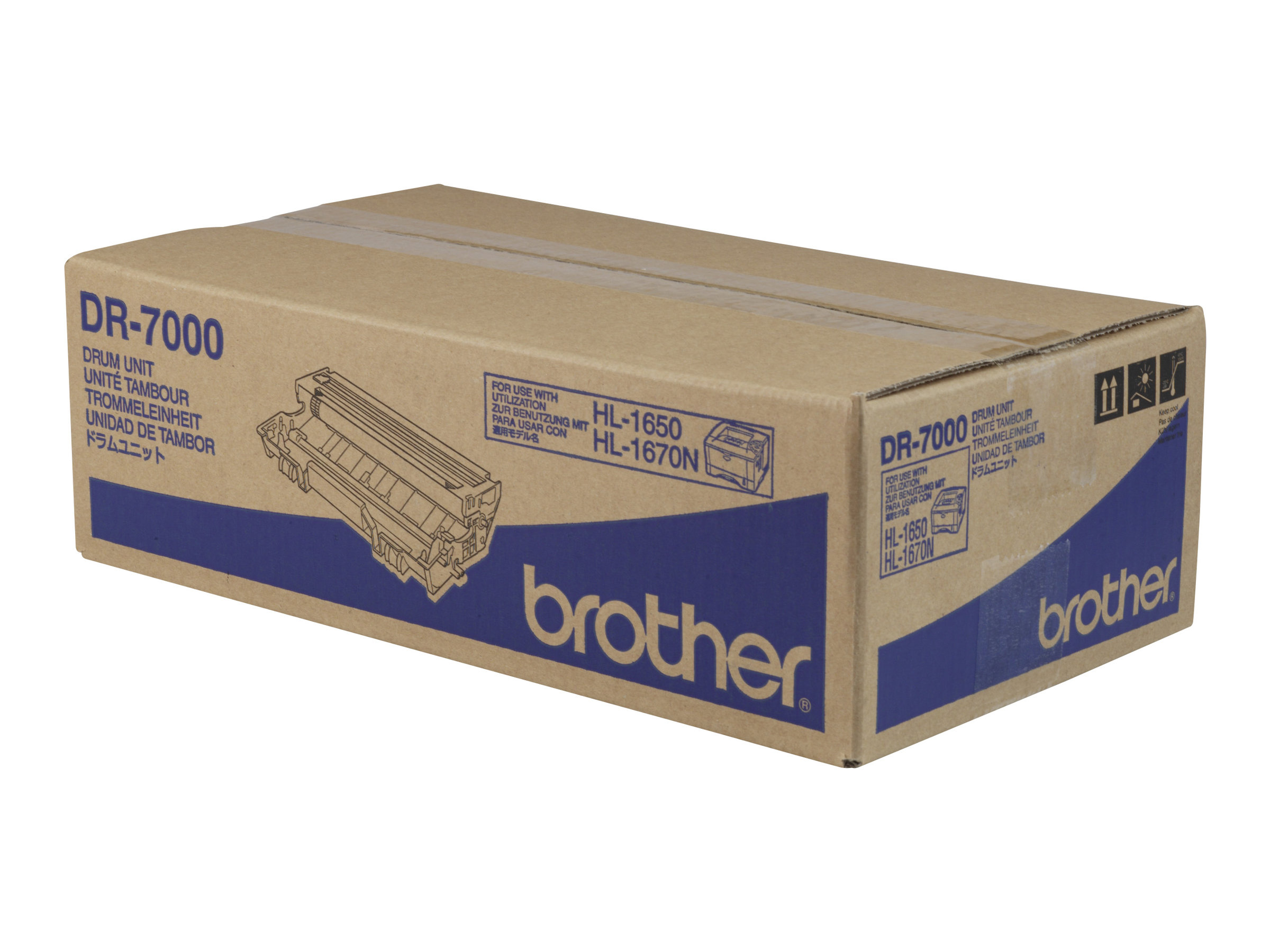 Brother DR7000 - 1 - Schwarz - Trommel-Kit - für Brother DCP-8020, 8025, HL-1650, 1670, 1850, 1870, 5030, 5040, 5050, 5070, MFC-8420, 8820