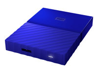 WD My Passport WDBYNN0010BBL - Hard drive - encrypted