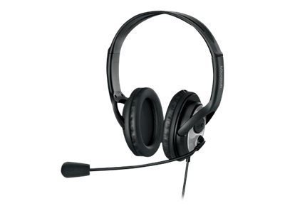 Microsoft LifeChat LX-3000 Headset full size wired USB black