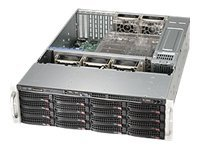 Supermicro SC836 E16-R500B - Rack-mountable