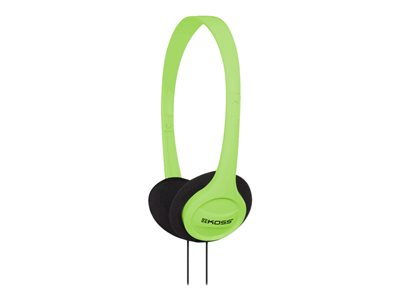 Koss KPH7 Colors Headphones on-ear wired 3.5 mm jack green